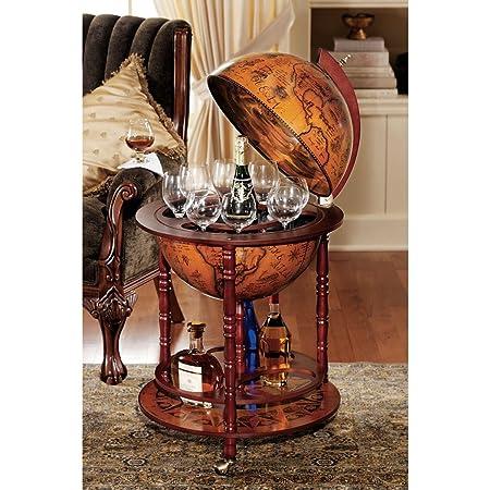 How To Make A Globe Liquor Cabinet