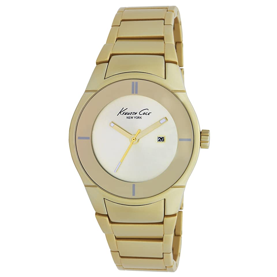 Kenneth Cole NY Gold Dial Womens watch KC4719 NEW