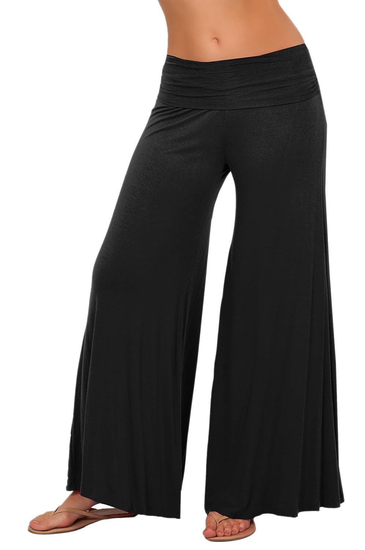 Long Gaucho Boho Flare Elephant Wide Leg Chic Sophisticated Casual Sassy Pants цены онлайн