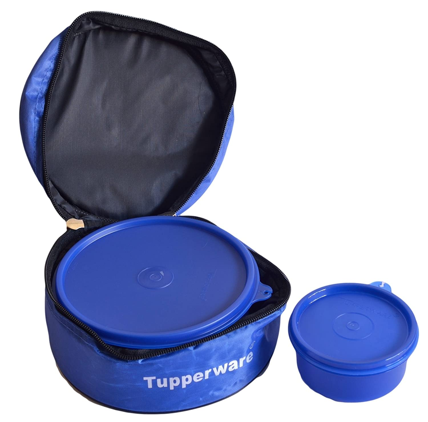 tupperware classic lunch box with insulated bag ebay. Black Bedroom Furniture Sets. Home Design Ideas