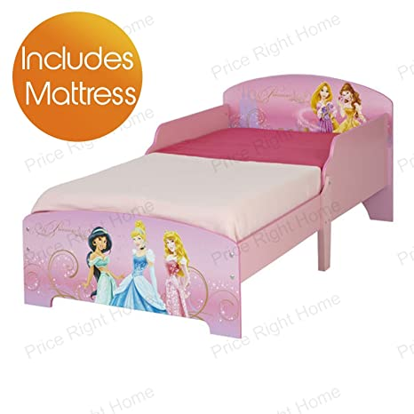 Disney Princess Toddler Bed Plus Foam Mattress by Disney Princess