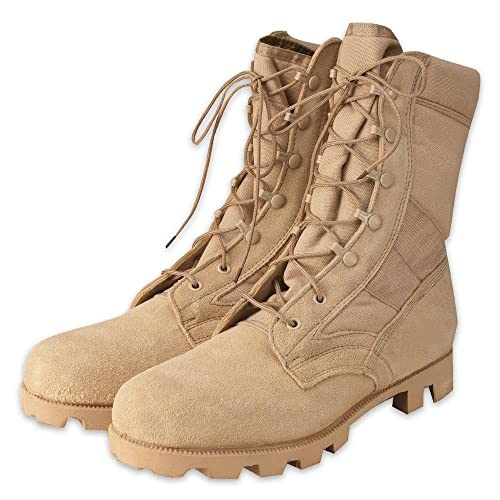Men's New Colorway Mens Boots - Speed Lace Jungle, Desert Tan By Rothco On Sale