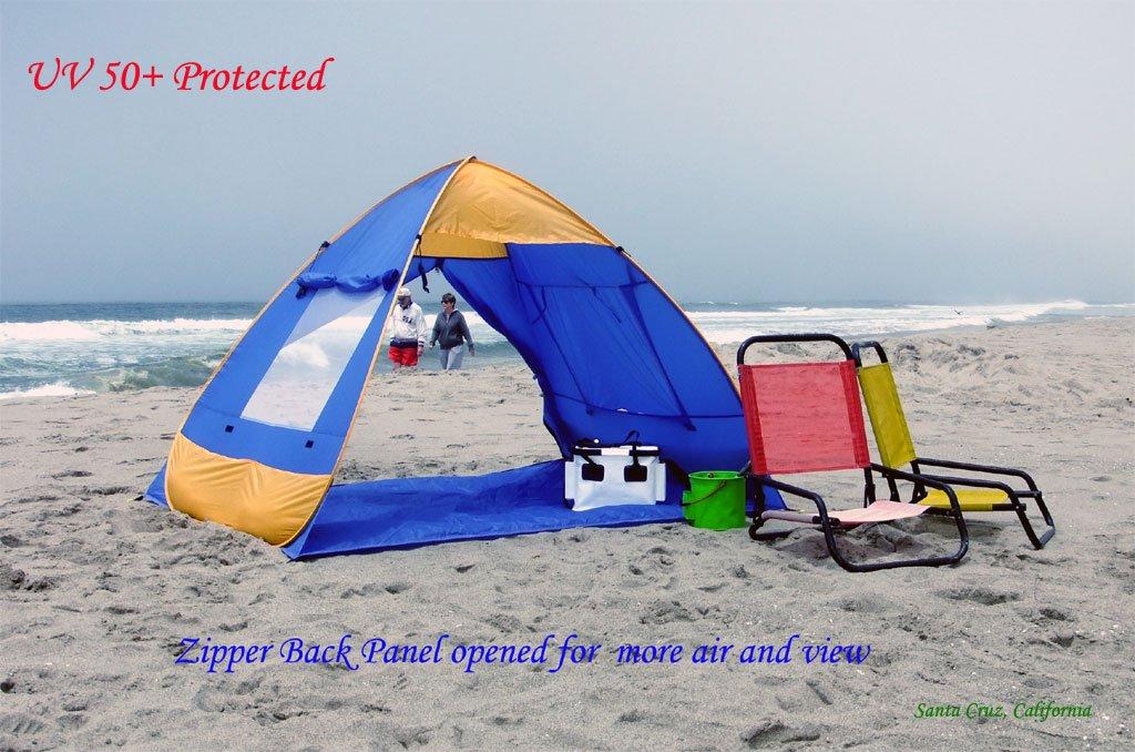 Genji Sports Pop Up Family Beach Tent And Beach Sunshelter & pop up tent
