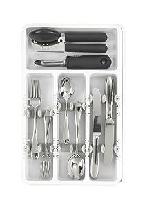 OXO Good Grips - Organizador de utensilios de cocina expandible   revisión y descripción más