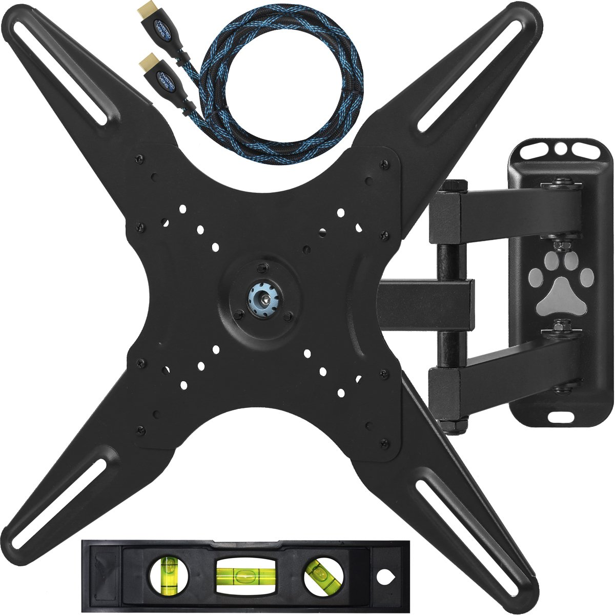 "Cheetah Mounts ALAMLB Articulating (20"" Ext) TV and Monitor Wall Mount for 23-49"" (some up to 55"" .."