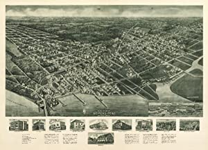 Somers Point, New Jersey - Panoramic Map