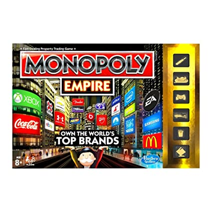 Hasbro – A4770 – Monopoly Empire – Version Anglaise (Import Royaume-Uni)