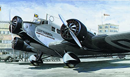 Italeri - I150 - Maquette - Aviation - Junkers JU52 Civil - Echelle 1:72