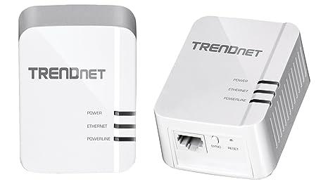 TRENDnet TPL-420E2K Pack de 2 CPL AV2 1200 Mo/s Blanc