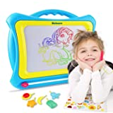 balnore Magnetic Drawing Board 16 Inch Multi-Colors Drawing Screens Write and Learn Creative Toy (Tamaño: Large)