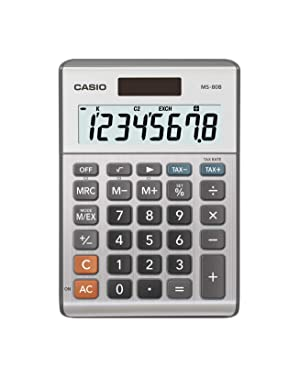 Casio MS-80B Standard Function Desktop Calculator