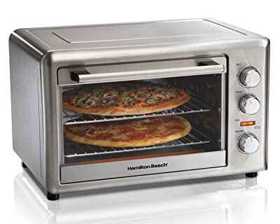 Hamilton Beach Countertop Oven with Convection and Rotisserie Via Amazon