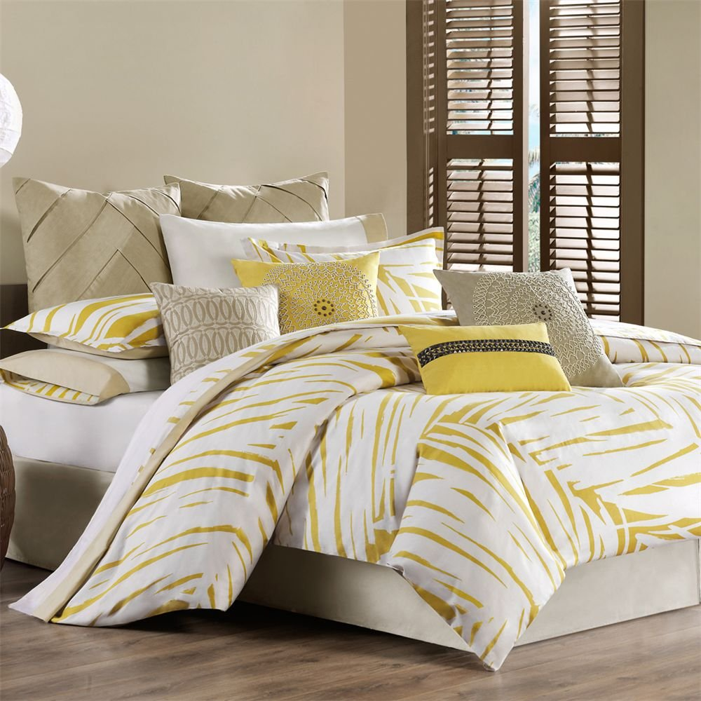 Yellow bedding sets home ideas designs for Bedroom bedding sets