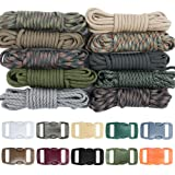 West Coast Paracord Zesty 550lb Paracord Crafting Kit - Make a Variety of Paracord Crafts - Type III Paracord (Zesty Camo, 100 Feet) (Color: Zesty Camo - 100ft)