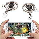 kilofly 2pc Smart Phone Mobile Game Joysticks Touch Screen Joypad Controller Set