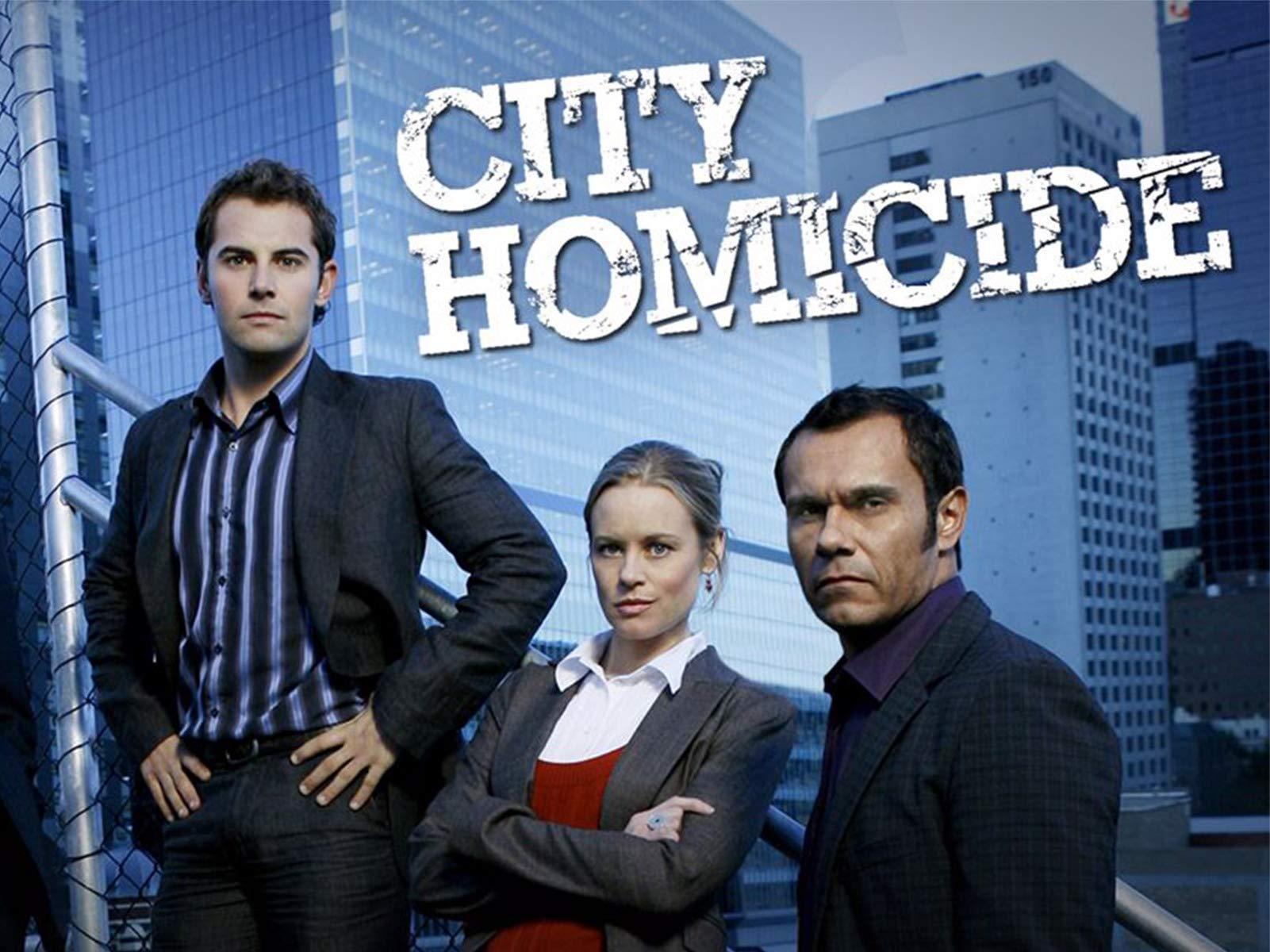 City Homicide on Amazon Prime Video UK