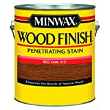 Minwax 71040000 Wood Finish Penetrating Stain, gallon, Red Oak (Color: Red Oak, Tamaño: Gallon)