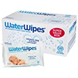 DermaH2O WaterWipes Wipes, 60 Count (Pack of 9) (Tamaño: 9 Pack)