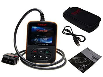 iCarsoft i908 OBD2 appareil de diagnostic CanBus Scanner Farbdisplay ABS