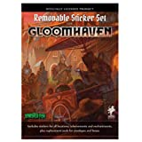 Cephalofair Games Gloomhaven Removable Sticker Set (Color: Multi-colored)