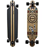 Rimable Drop-through Longboard (Canadian Maple, Dream Catcher) (Color: Canadian Maple, Dream Catcher)