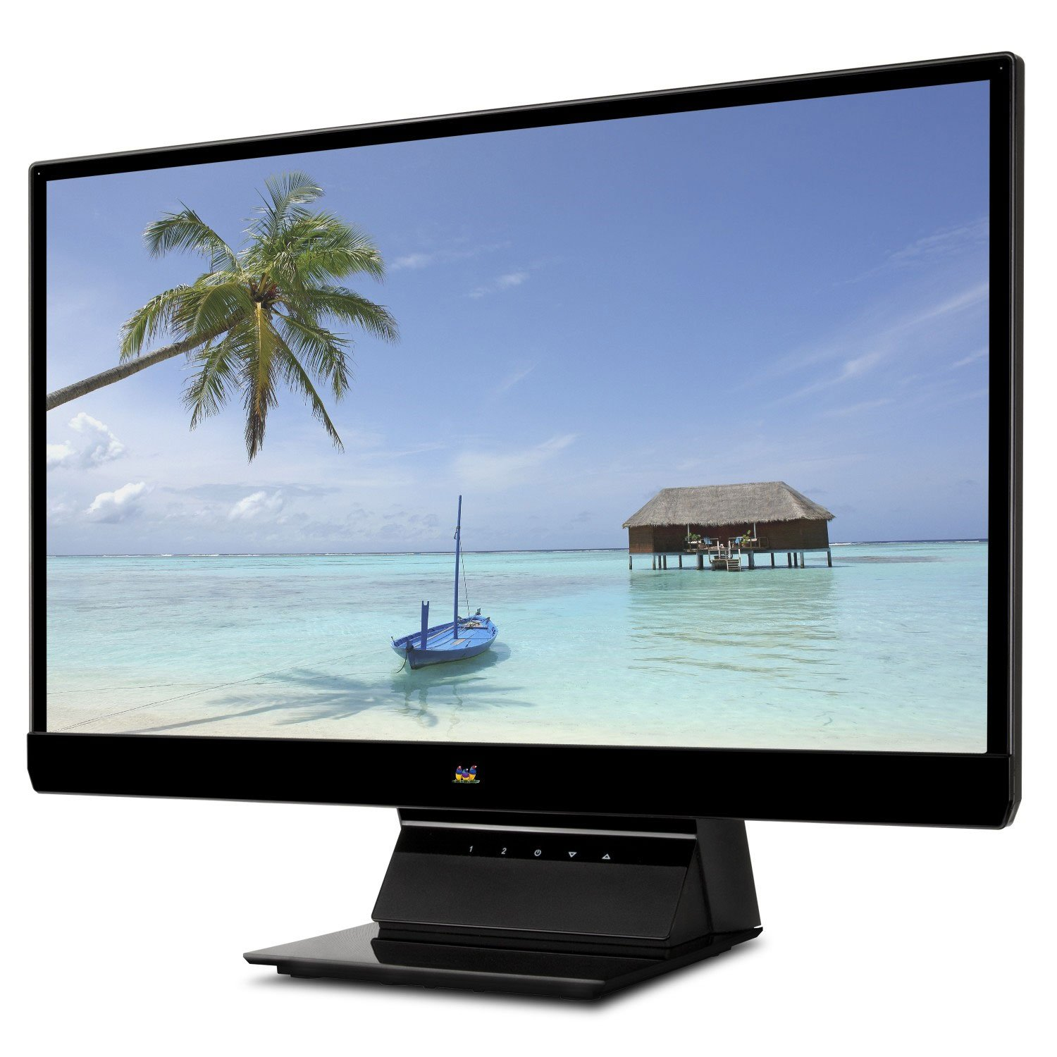 ViewSonic VX2270SMH-LED 22-Inch IPS LED Monitor (Frameless Design, Full HD 1080p, 30M:1 DCR, HDMI/DVI/VGA) $125.99