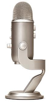 Microfono USB  Edicion Platino Yeti Microphone