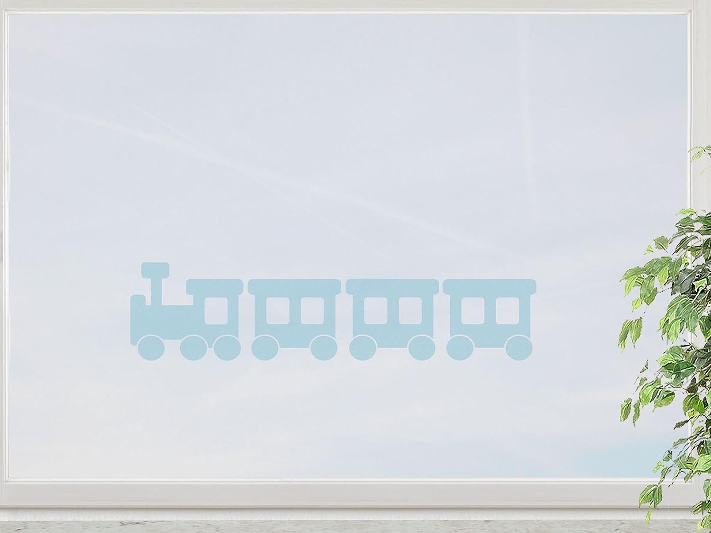 wandfabrik – Fenstersticker Lokomotive 40cm – blue – 738 – (Hg) online kaufen