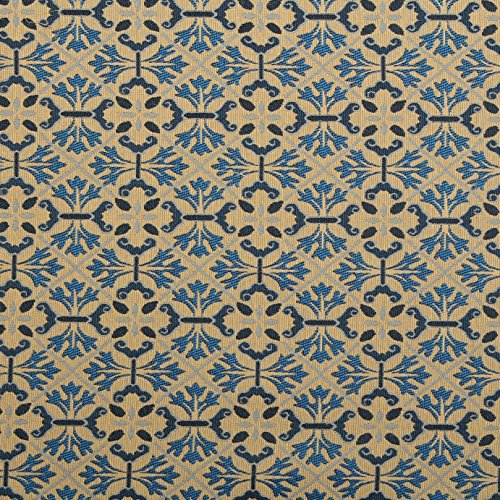 traditional-georgian-floral-geometric-diamond-tapestry-weave-upholstery-fabric-blue