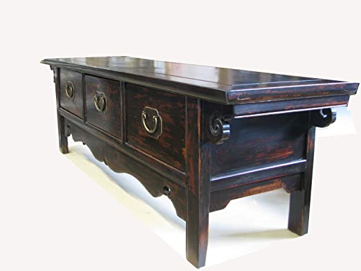 Decorative Sideboard in China from Trompetenbaumholz