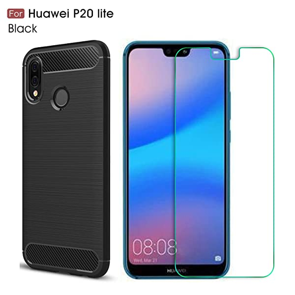 630f9b86c47 Huawei P20 Lite case,with Huawei P20 Lite screen protector. MYLB (2 ...