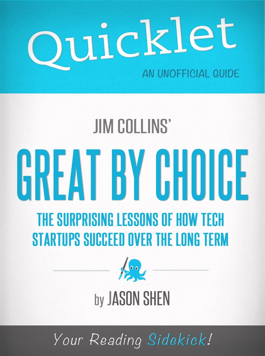 great by choice James c jim collins (born 1958) is an american author and lecturer on the  subject of  his most recent book is great by choice before that he wrote how  the.