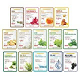 [NOBLESSE] Fermentation Essence Facial Sheet Mask 20g Pack of 14