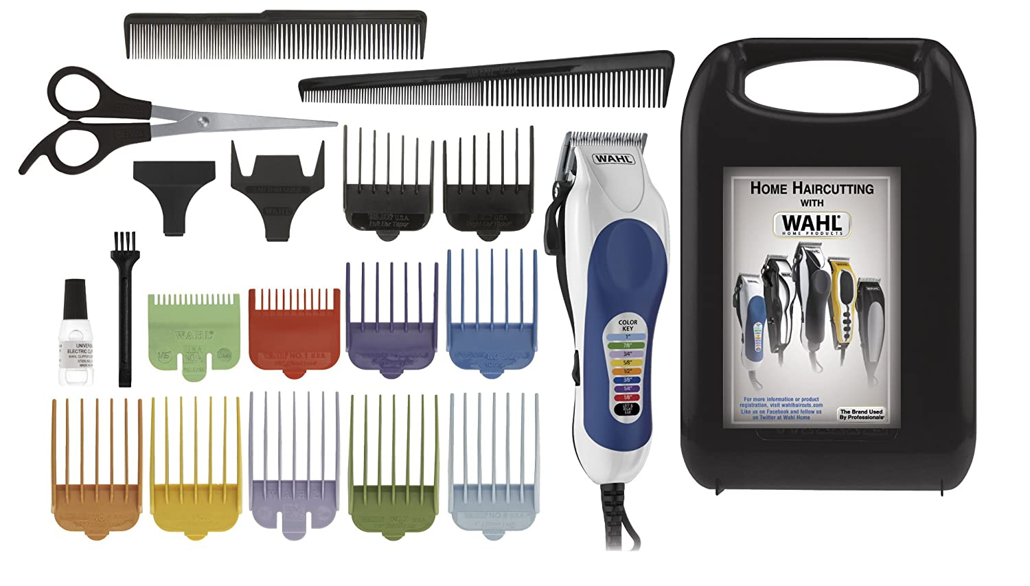 conair home haircutting kit instructions