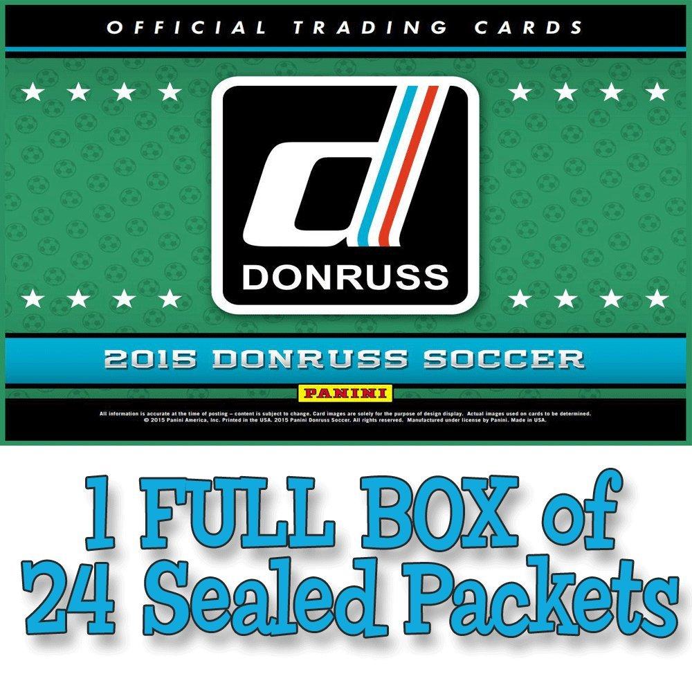 Panini Don Russ Soccer Fußball 2015 Trading Cards volle Schachtel mit 24 Paketen