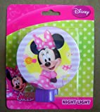 Disney Minnie Mouse Night Light Pink & Purple