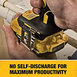 DEWALT 20V MAX Battery, Compact 2.0Ah Double Pack (DCB203-2), Yellow (Color: Yellow, Tamaño: 9.00 x 7.00 x 3.50)