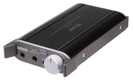 Teac HA-P50 Amplificateur casque portable pour appareils iPod / iPhone / iPad ou Android noir