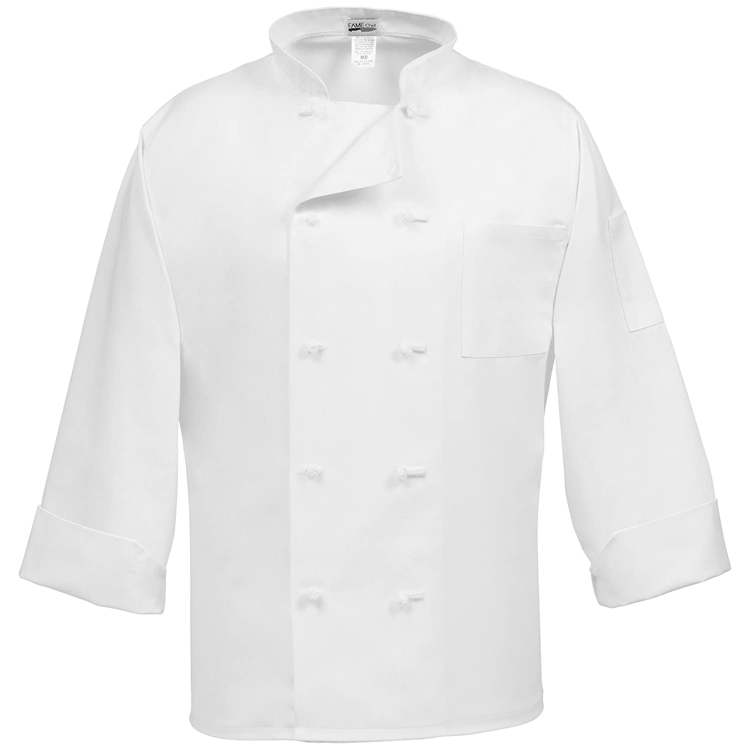 French Chef Drawing Adult's Chef Coat French