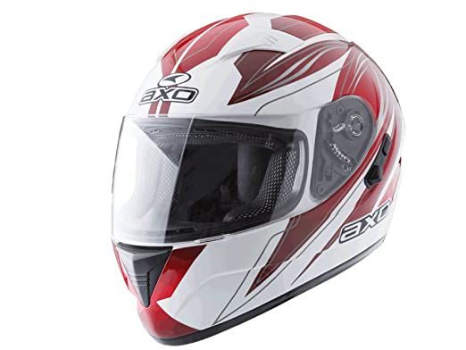 AXO mS1P0012 rW casque goblin, taille s (rouge/noir)