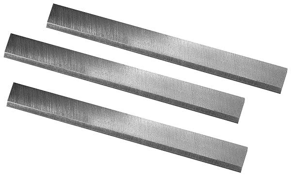 POWERTEC 148020 6-1/8-Inch HSS Jointer Knives for Ridgid JP0610, Set of 3