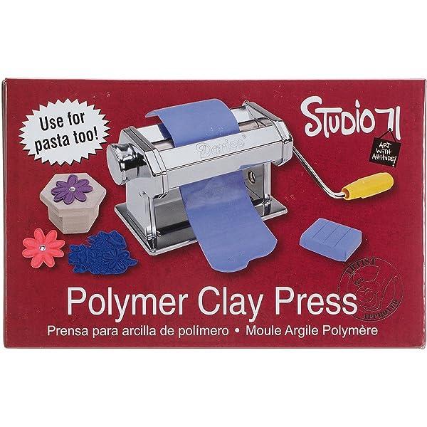 Darice Studio 71 Polymer Clay Press (Color: Limited edition)