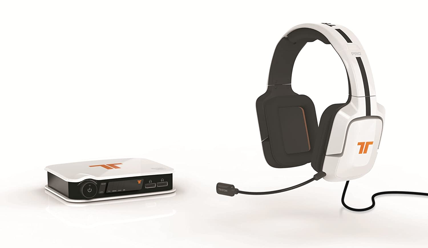 Tritton PRO+ 5.1 Surround Headset mit Dolby Digital Decoder für 84€ kopfhorer  71R1aNuhytL. SL1500