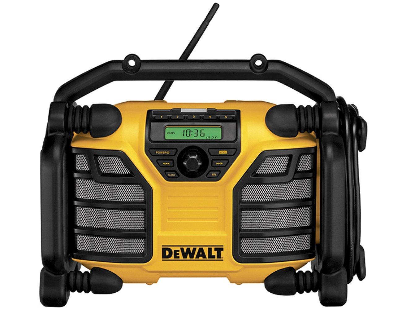 DeWalt DCR016 Baustellenradio, Akku/Netz, ohne Ladefunktion, XRLiIon  BaumarktBewertungen und Beschreibung