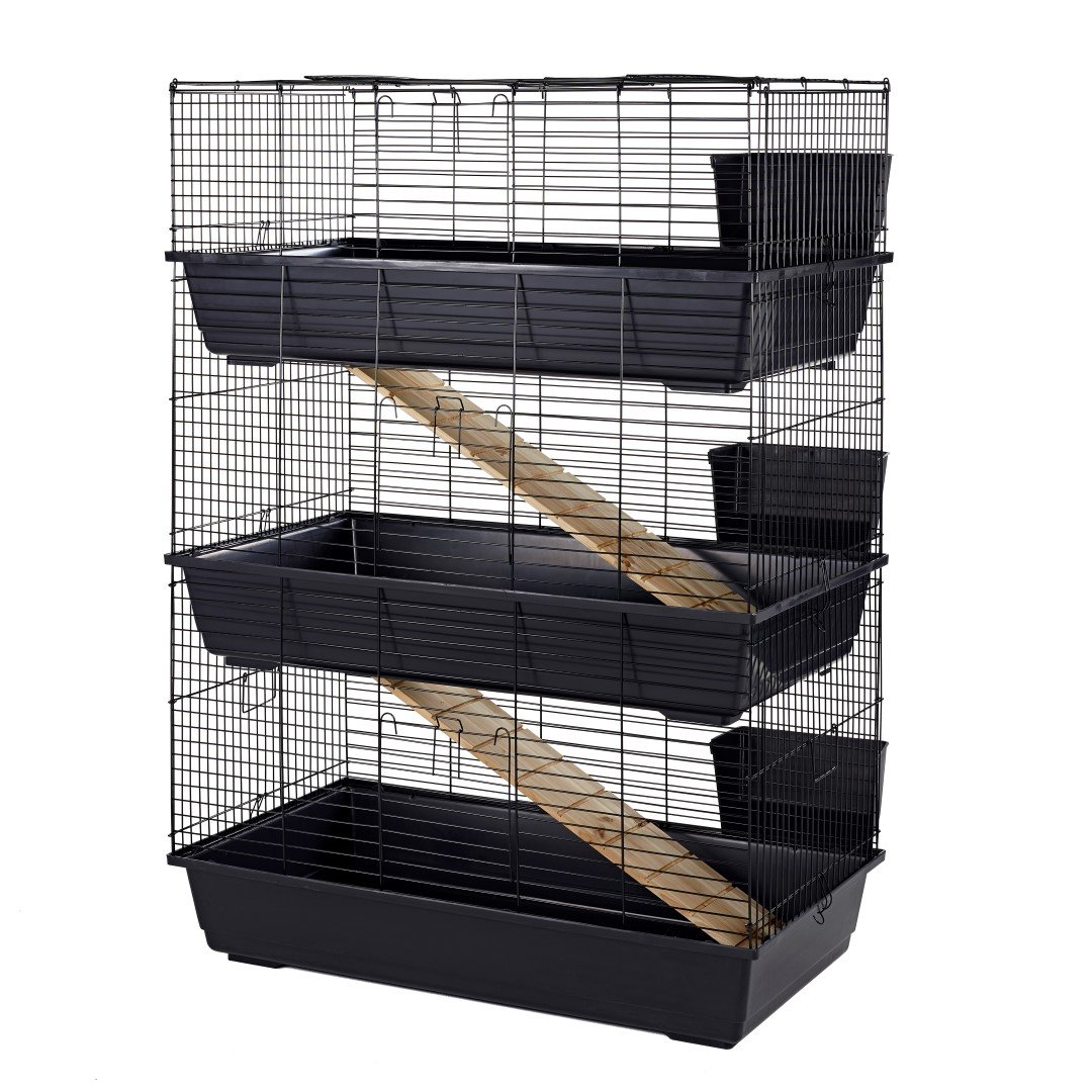 Little Friends Rabbit Cage, Triple, 100 cm