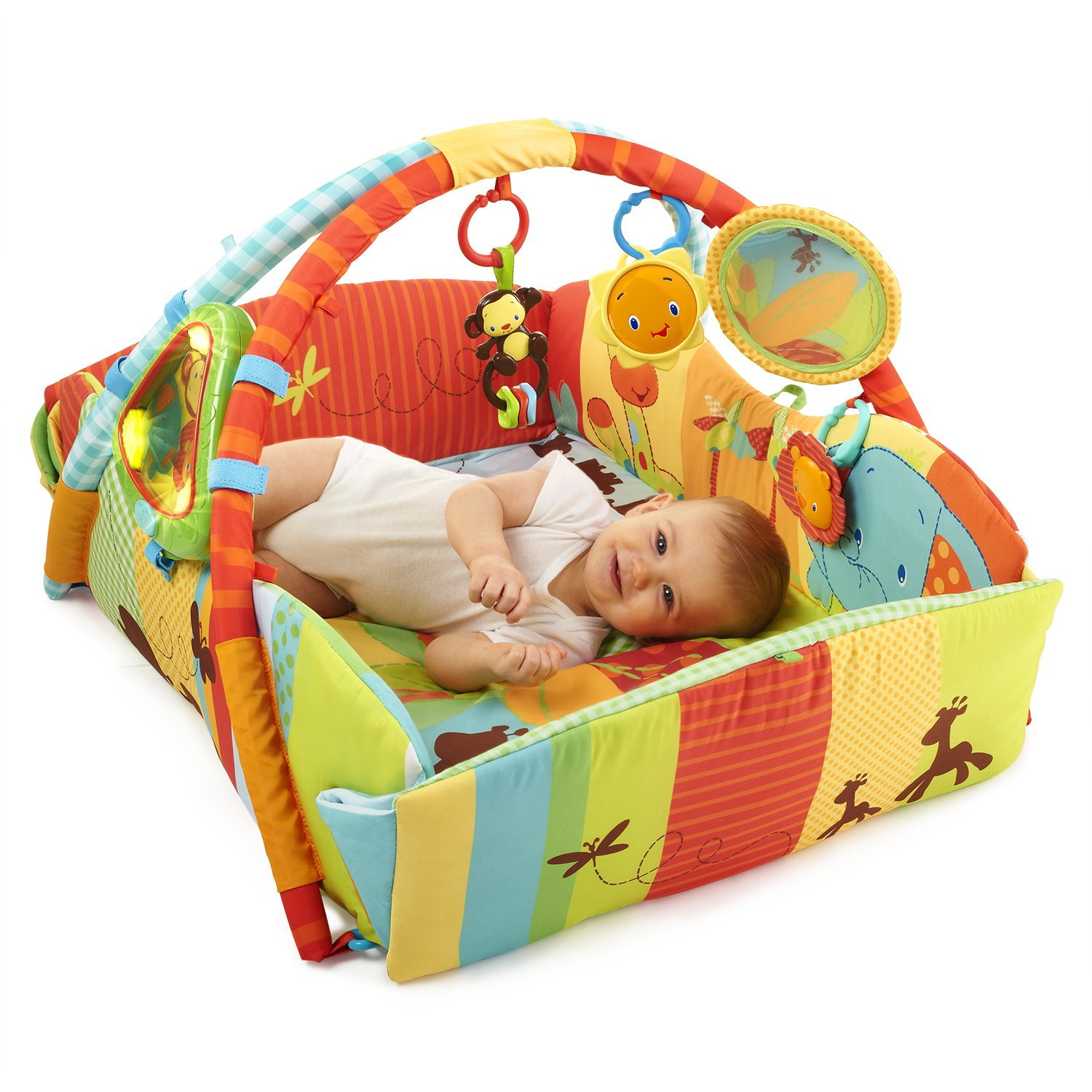 bright star baby play mat
