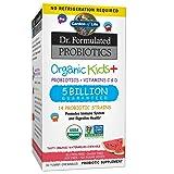 Garden of Life Probiotics, Dr. Formulated Organic Probiotics for Kids, 5 Billion CFU, Watermelon, 30 Count