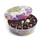 Godiva Chocolatier Limited Edition Lady Godiva Assorted Chocolate and Truffle Keepsake Gift Tin, 36 piece (Tamaño: 36 Count)