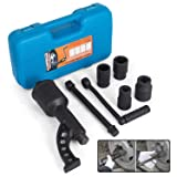 Mophorn 1:78 Torque Multiplier Wrench 7500 NM Lug Nut Wrench Set Lugnut Remover with Case Labor Saving Wrench Tool Heavy Duty Torque Multiplier Tool for Truck Trailer RV (Color: 1:78 7500 NM)