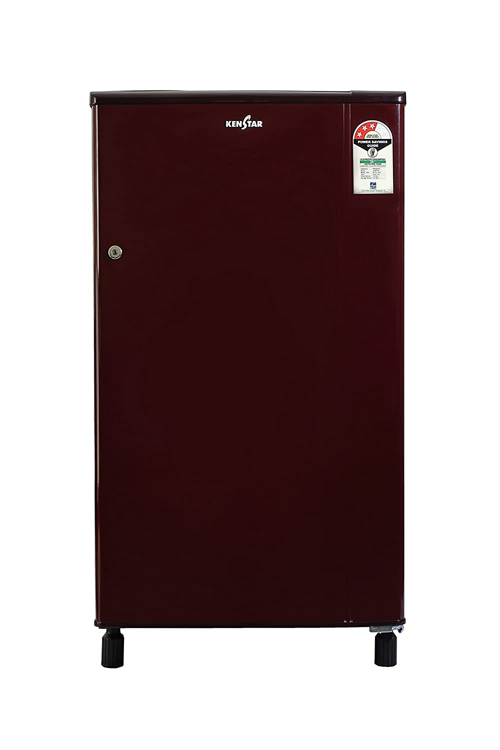 Kenstar NH163BBR-FDA Direct-cool Single-door Refrigerator (150 Ltrs, 3 Star Rating, Burgundy Red) By Amazon @ Rs.6,590